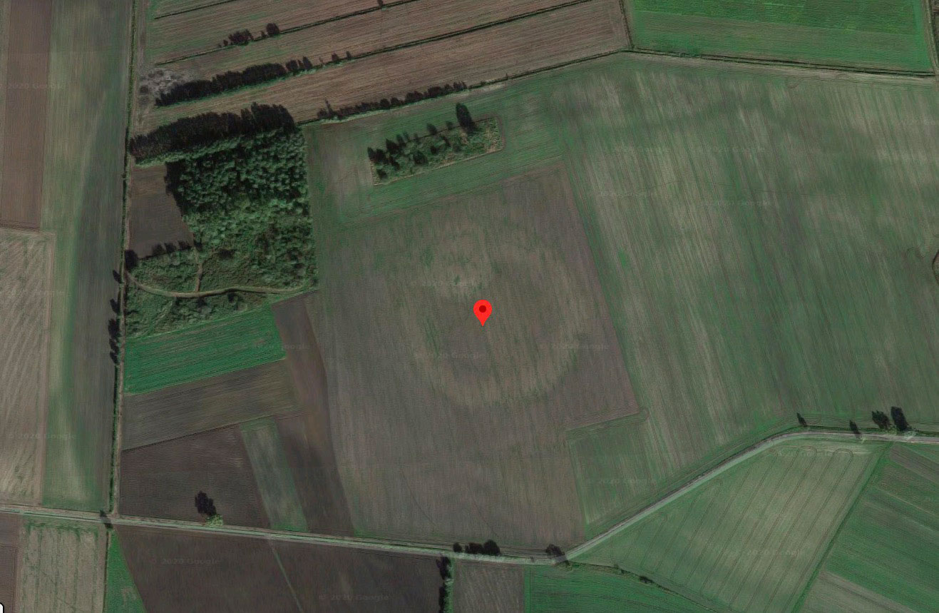 Mais quel drôle de motif que voilà - crédits Google Maps