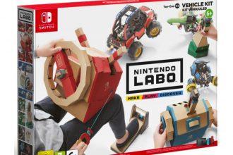 Ce Nintendo Labo est proposé avec une belle promotion chez Boulanger