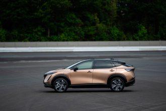 La Nissan Ariya - crédits Nissan