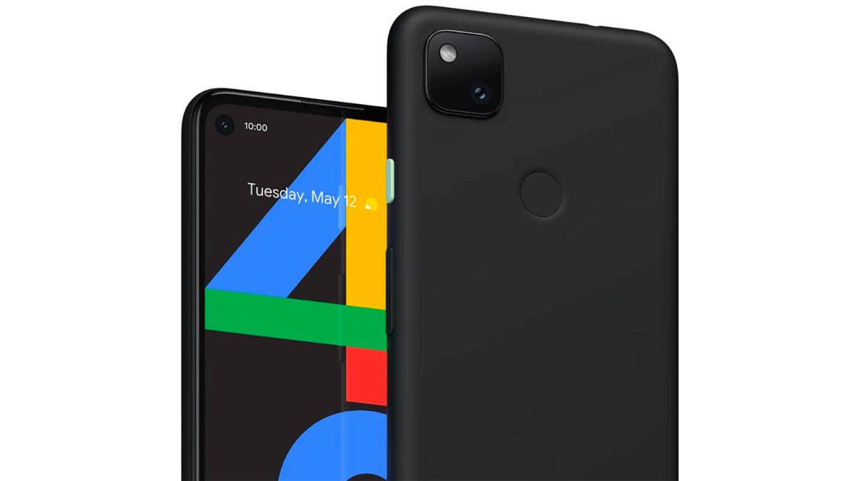 Le Pixel 4a s'est retrouvé dans le diaporama du Google Store canadien