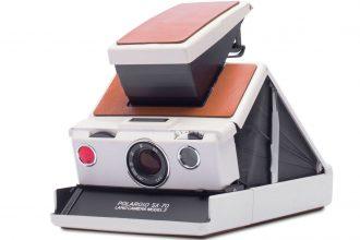 Le Polaroid SX-70 en promo, chez Boulanger