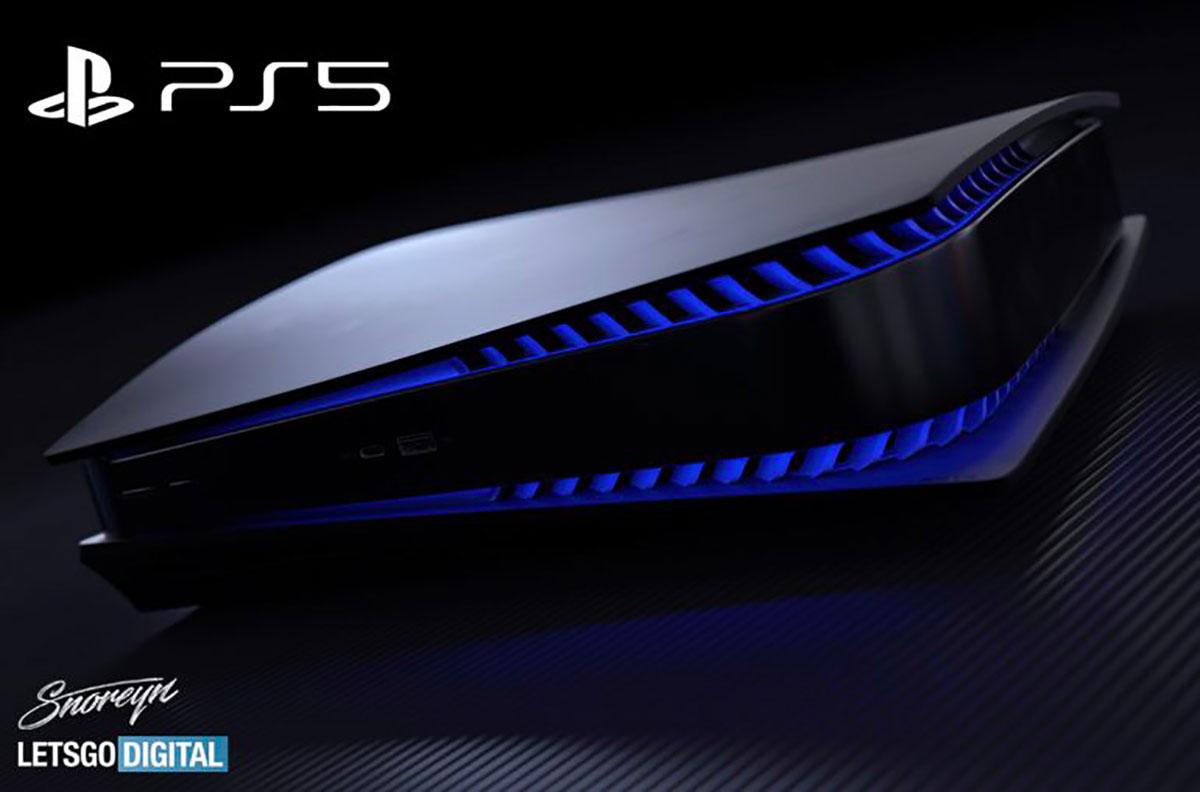 Si la PS5 se déclinait en noir... - Crédits Let's Go Digital