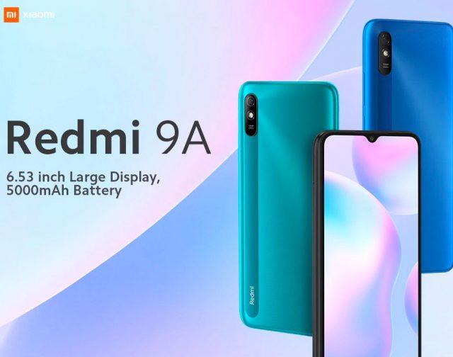 Le Xiaomi Redmi 9A à 89 € en gris ou vert