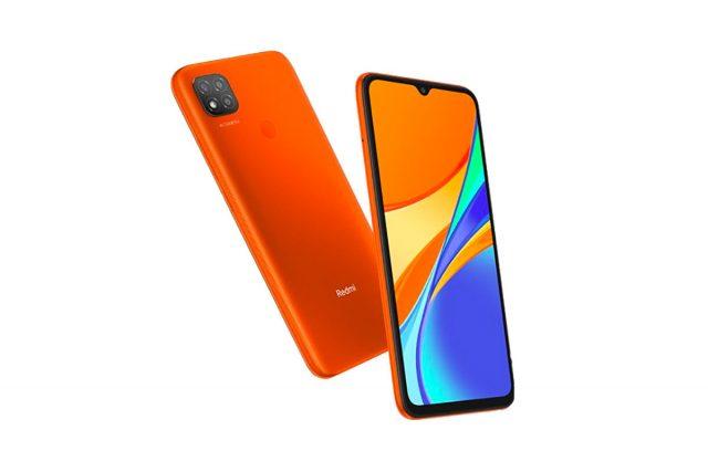 Le Redmi 9C en version orange