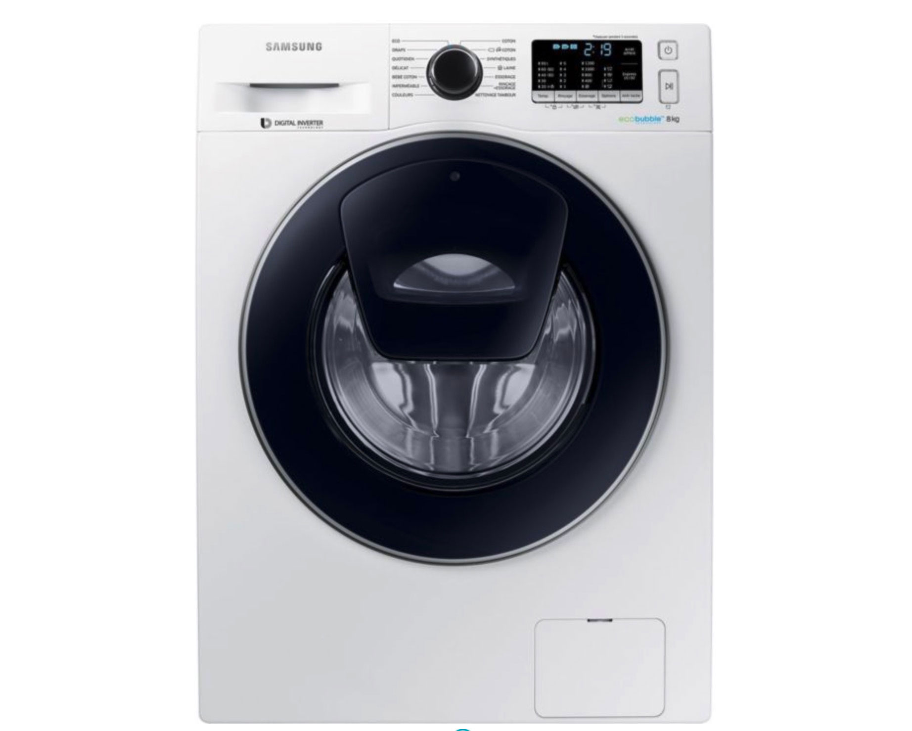 Le Samsung ADD WASH Eco Bubble