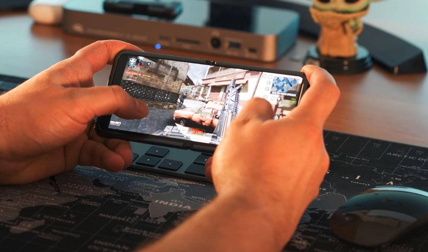 Le Galaxy Z Flip peut faire tourner n'importe quel titre