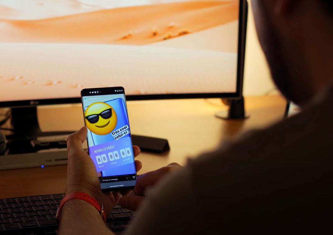 L'écran du Motorola Edge est un régal pour les yeux