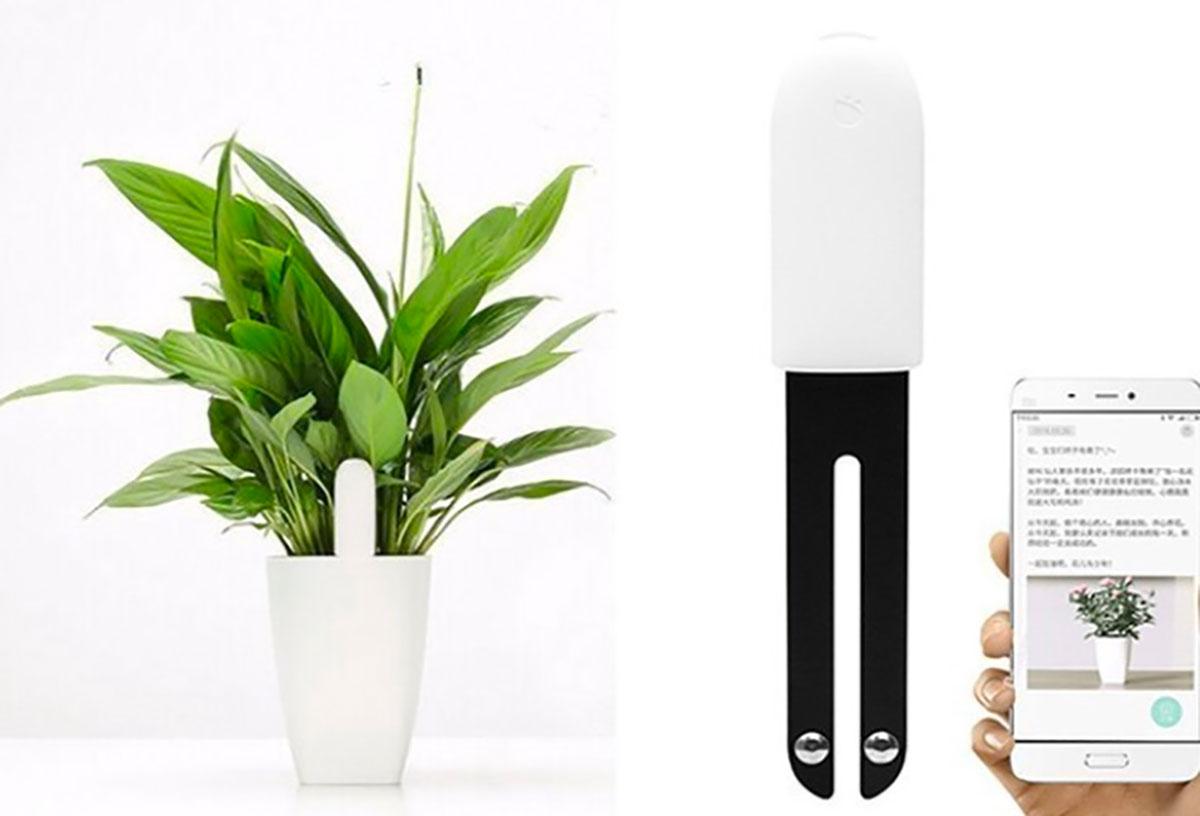 Xiaomi compte pas mal de produits à son catalogue, comme ce tracker pour plantes