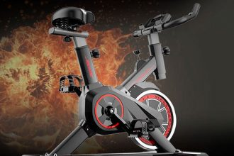 Ce vélo d'intérieur est proposé à un bon prix chez Gearbest