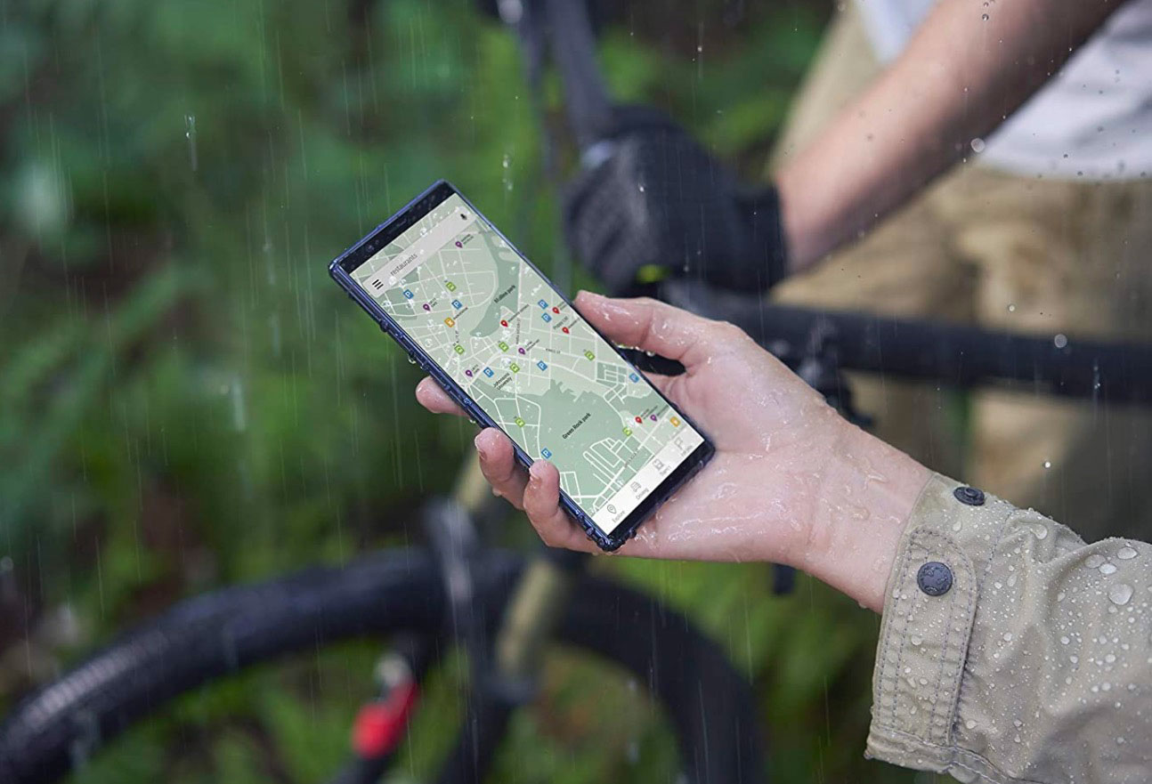 Le Xperia 5, un smartphone très looké