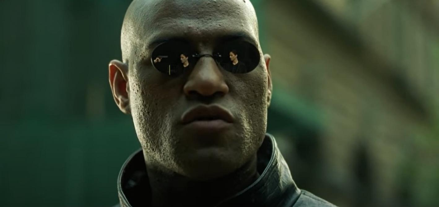 Laurence Fishburne dans Matrix