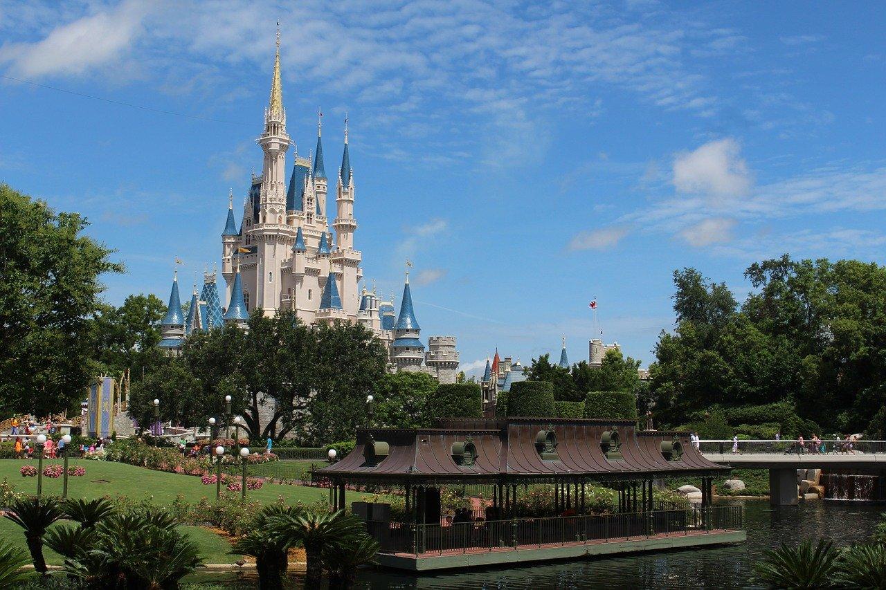 Le château de Disney World