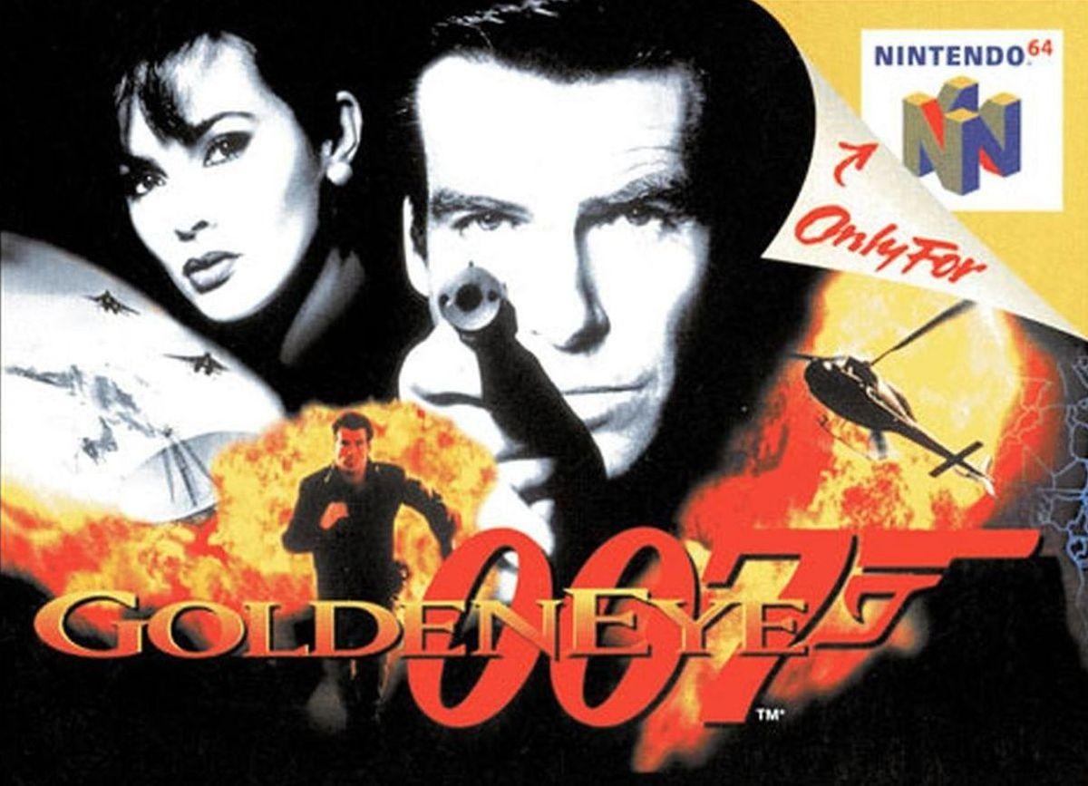 La jaquette de GoldenEye sur N64