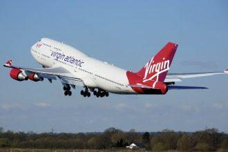 Un avion de Virgin Atlantic
