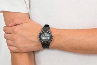 La Casio Collection W-216H, une montre qui n'est pas connectée, mais qui a beaucoup de charme