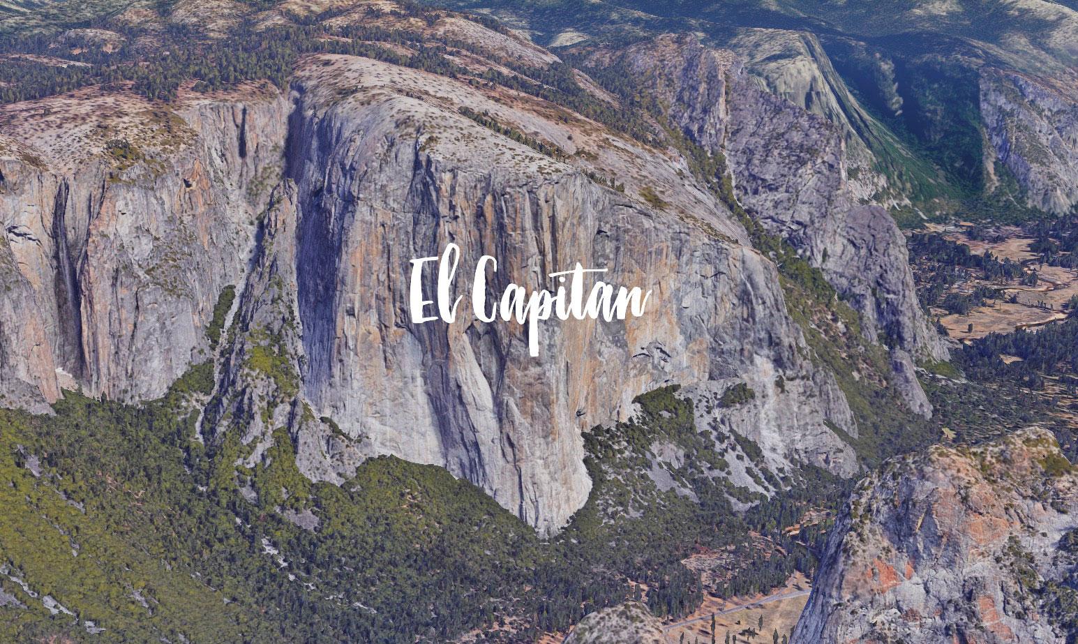 El Capitan, un lieu pas tout à fait comme les autres à découvrir dans Google Maps