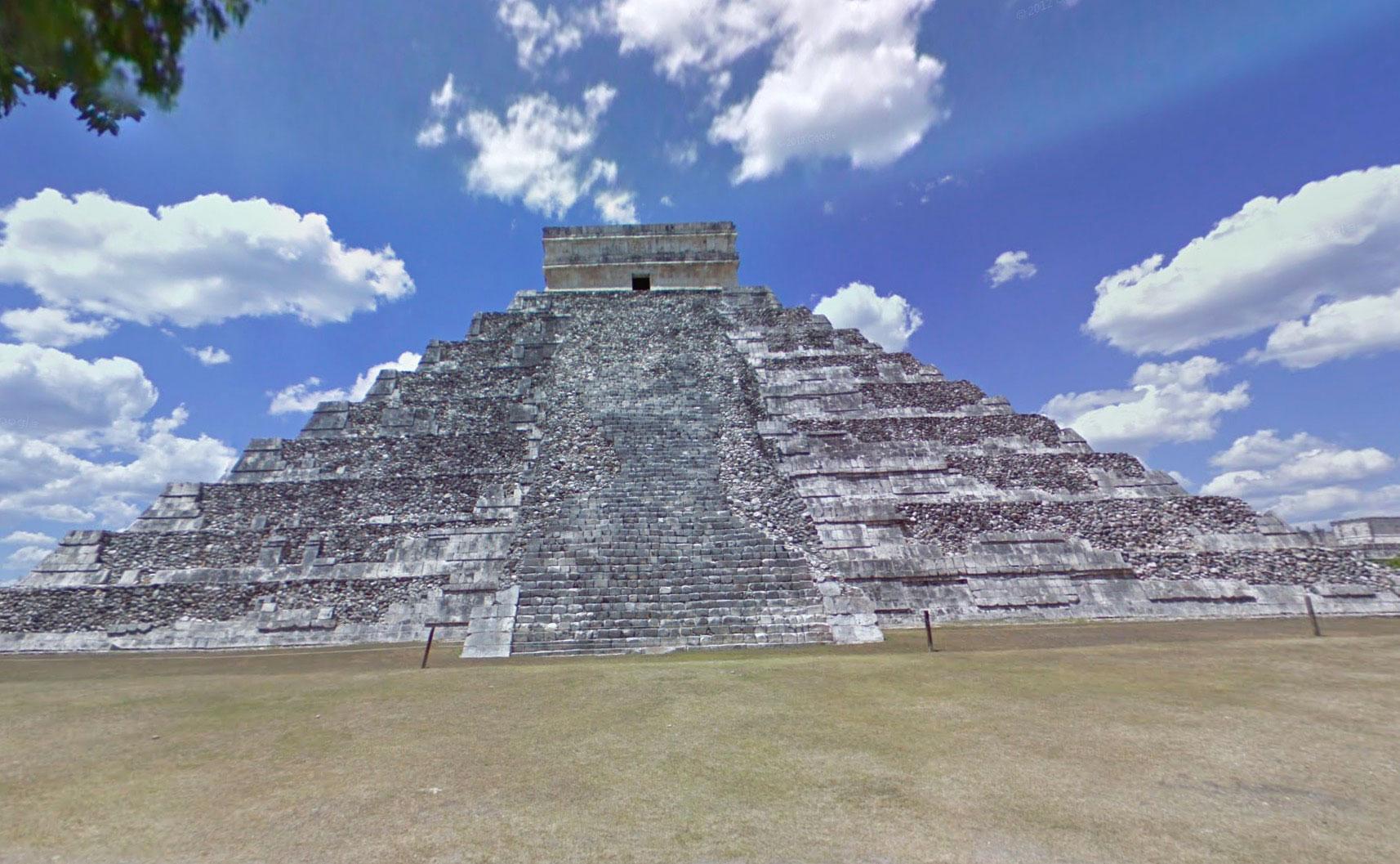 El Castillo, une pyramide à degrés