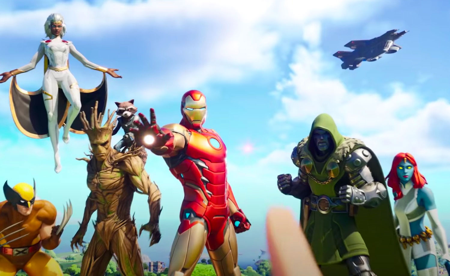 La saison 4 du Chapitre 2 de Fortnite est placée sous la coupe des super héros Marvel