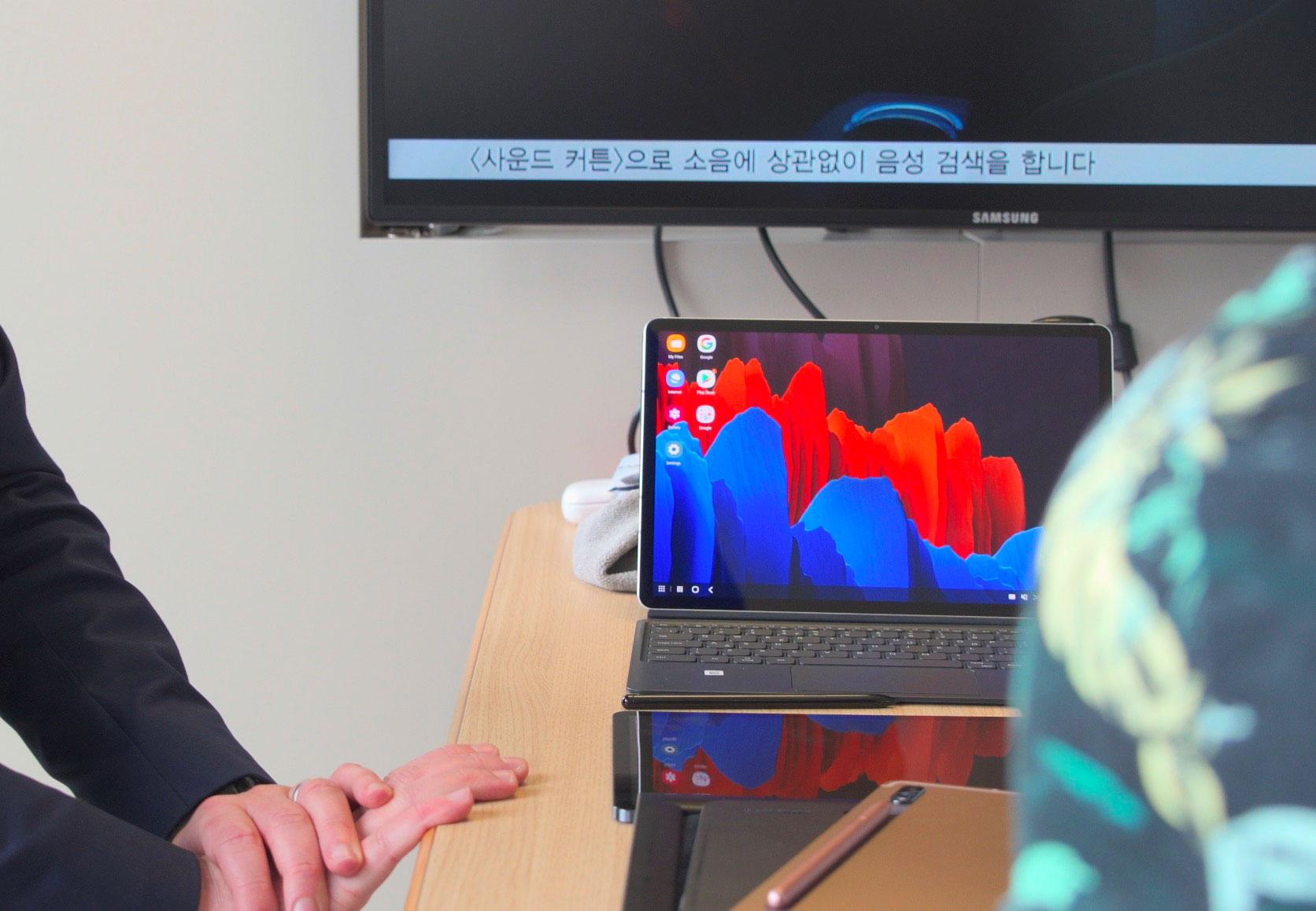 Les Galaxy Tab S7 ont été pensées comme des machines polyvalentes, capables de remplir pas mal de rôles