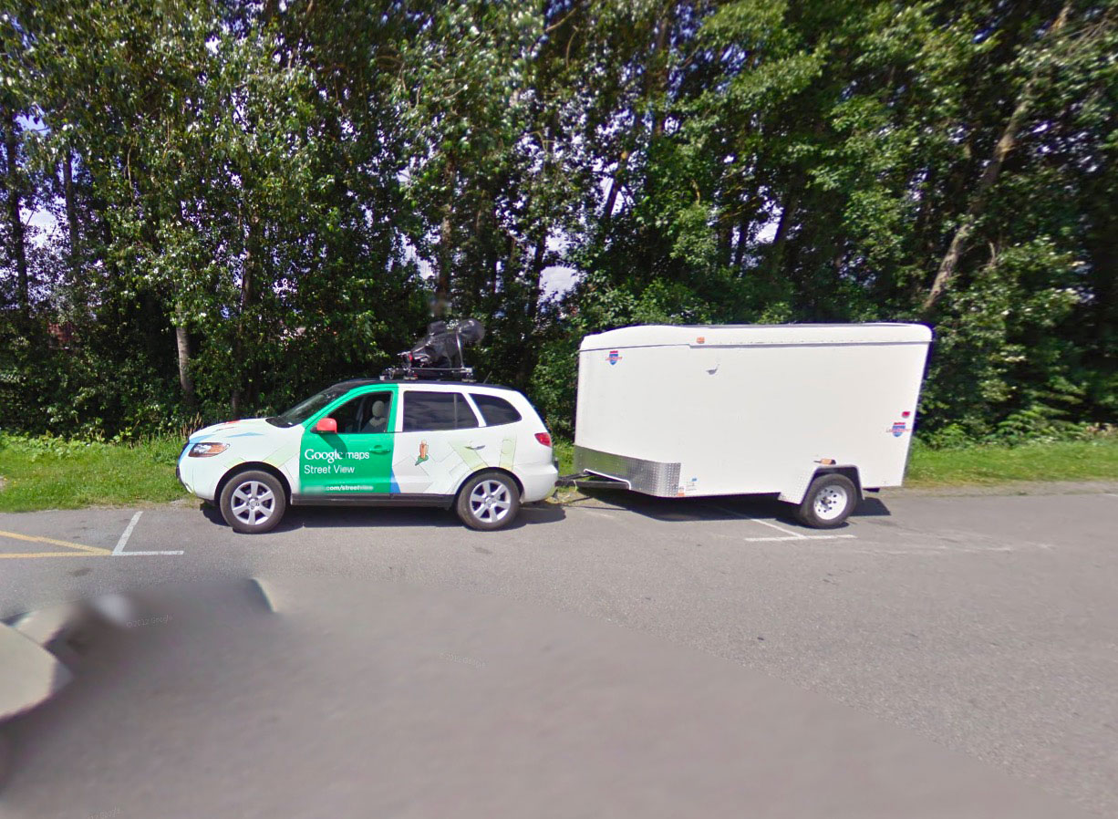Tiens, on dirait une Google Car