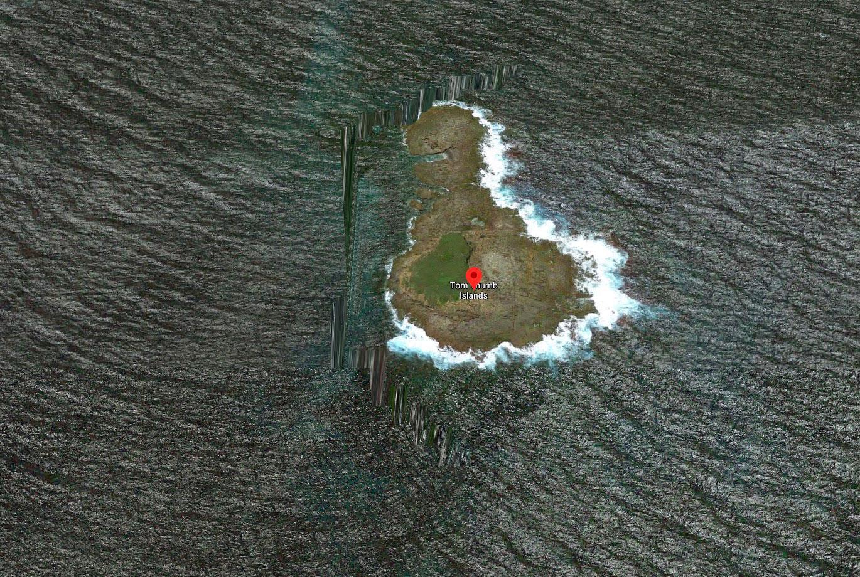 Parfois, la vue en 3D de Google Maps donne d'étranges résultats