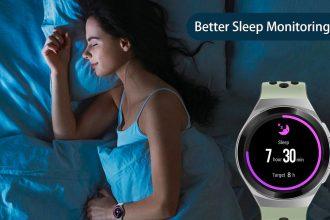 La Huawei Watch GT 2e peut aussi surveiller votre sommeil