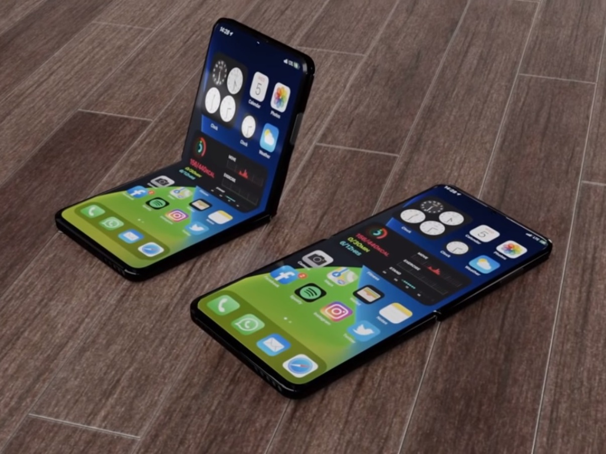 iPhone 12 Flip concept - Hey, a foldable iPhone 12 concept Galaxy Z Flip - FREDZONE