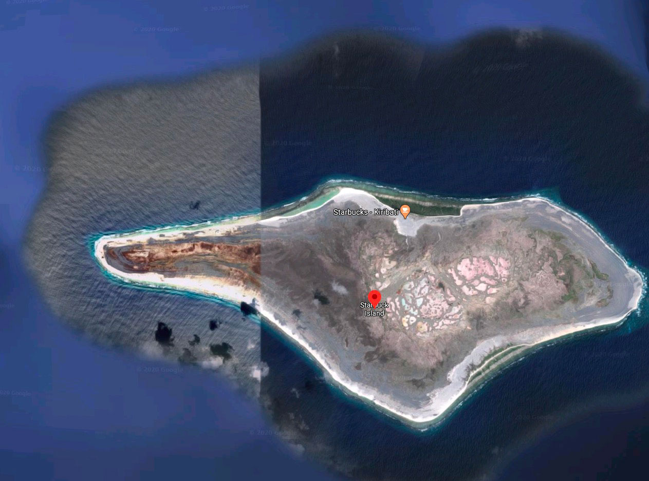 Drôle d'île, n'est-ce pas ?