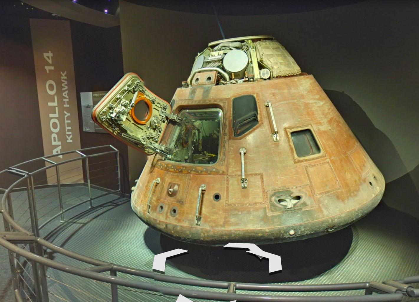 Le centre spatial Kennedy est visitable dans Google Maps