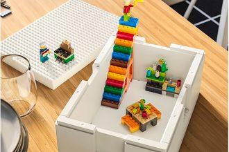 Une boite de rangement développée par Ikea et LEGO