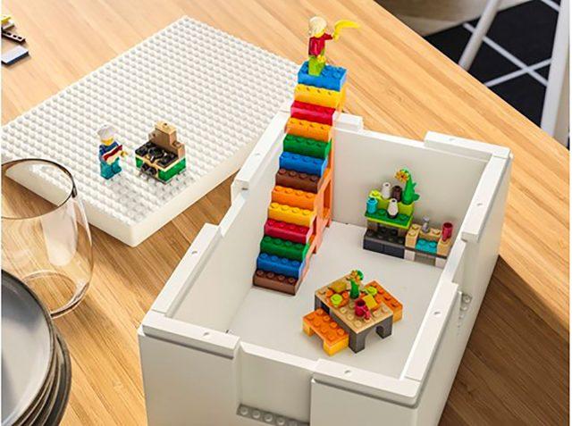 Ikea et Lego s'apprêtent à lancer des boîtes de rangement ...