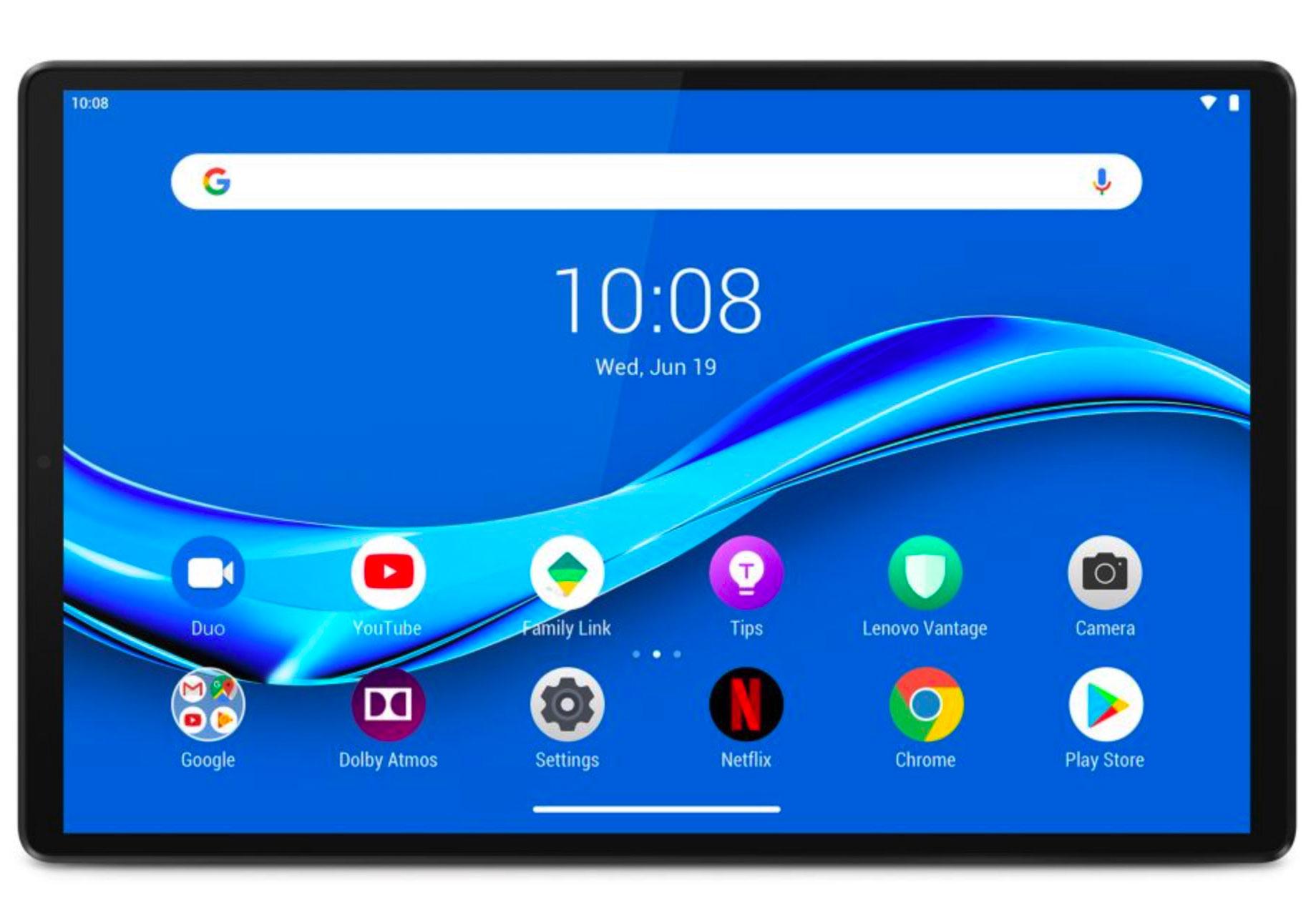 La Lenovo Tab M10+, une tablette polyvalente