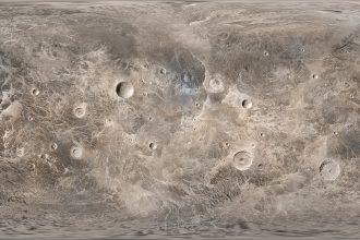 Image de la surface de Ceres