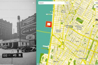 Que diriez-vous d'explorer le New York des années 40 depuis le confort de votre salon (ou de votre bureau) ?