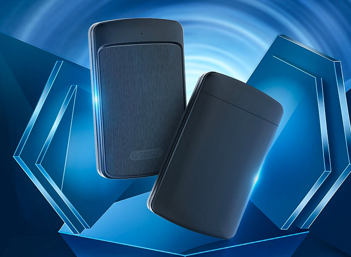 Le boîtier pour HDD externes vendu par Orico