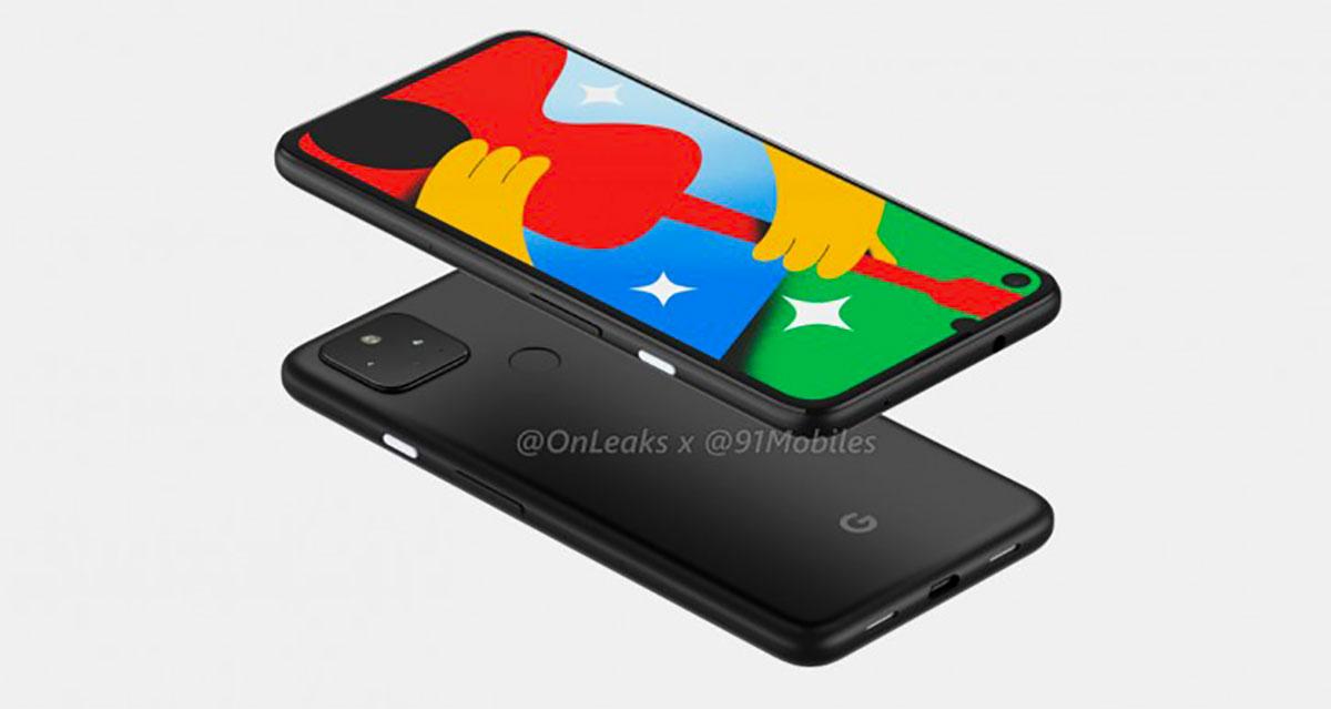 Voici à quoi ressemblera le Pixel 4a 5G - Crédits OnLeaks x 91Mobiles