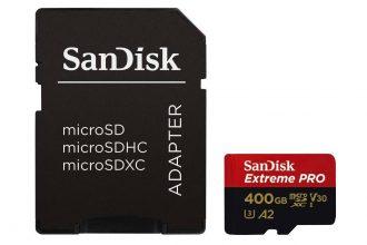 La SanDisk Extreme Pro 400 Go