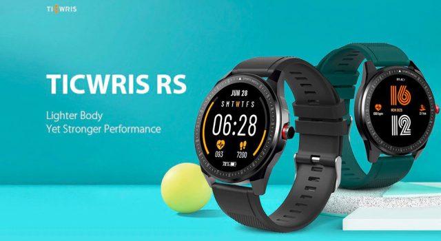 La TICWRIS RS à 28 €, une petite montre connectée par chère