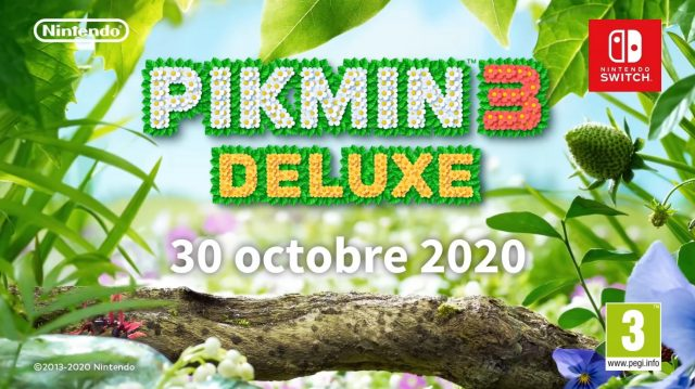 Pikmin 3 se pare d'une version deluxe sur Switch
