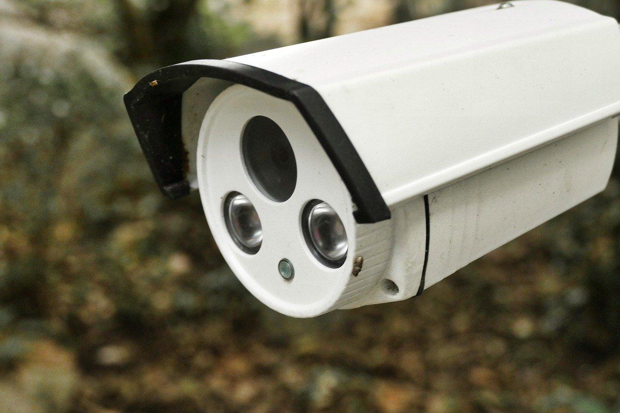 Photo d'une caméra de surveillance