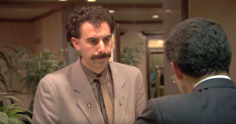 Sacha Baron Cohen dans Borat