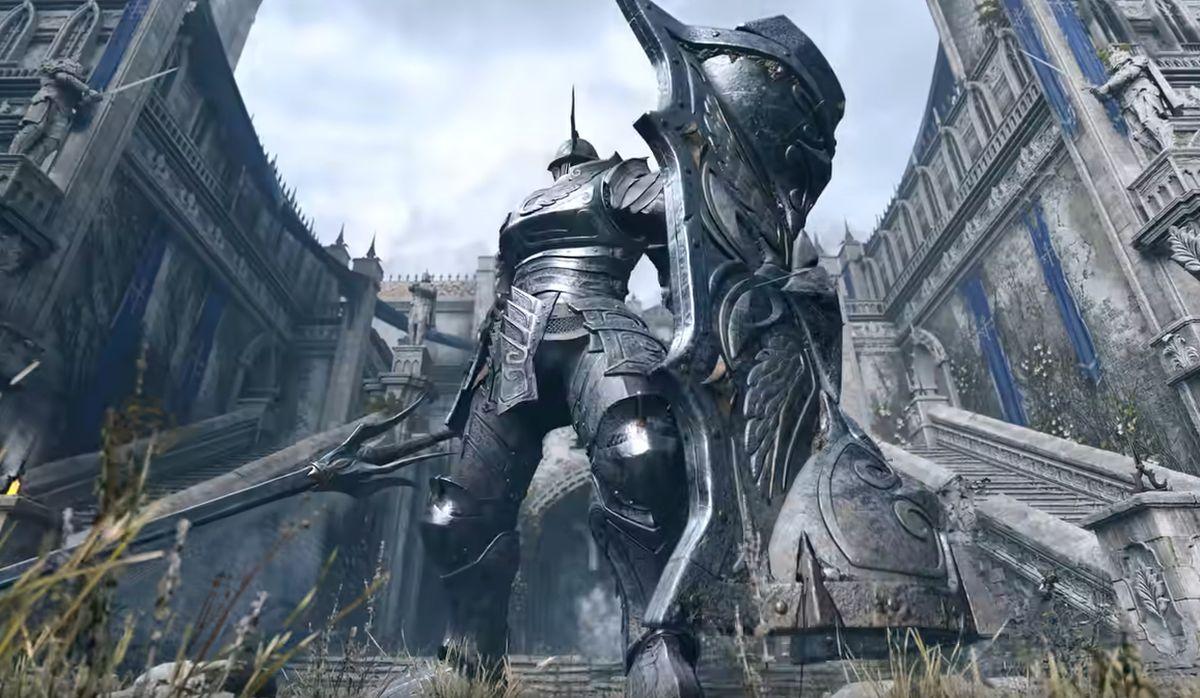 Une photo de Demon's Souls, ou plutôt de son remake sur PlayStation 5