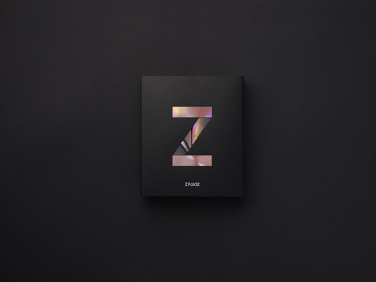 La boîte du Galaxy Z Fold 2