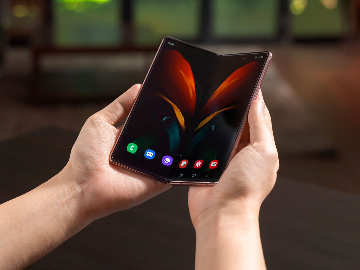 Quand on déplie le Galaxy Z Fold 2, c'est là que la magie opère