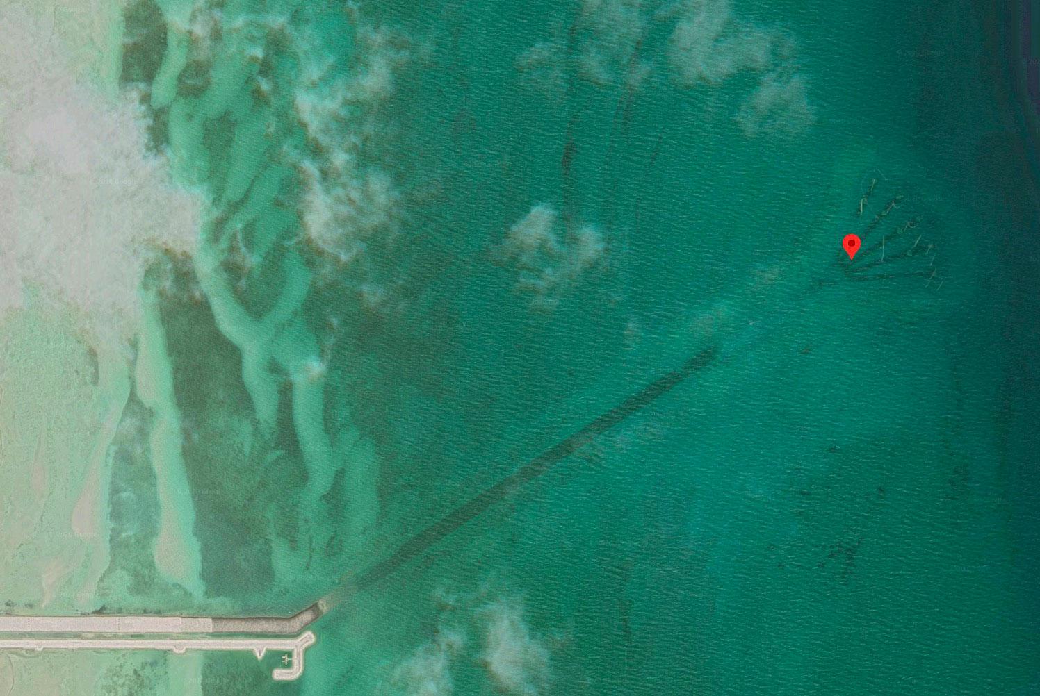 Mais à quoi donc peut bien servir cette drôle de structure trouvée sur Google Earth ?