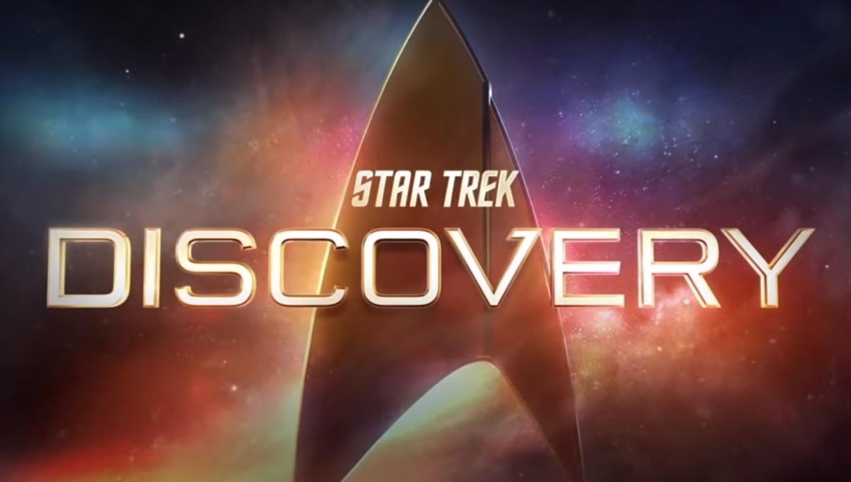 Une affiche de Star Trek Discovery