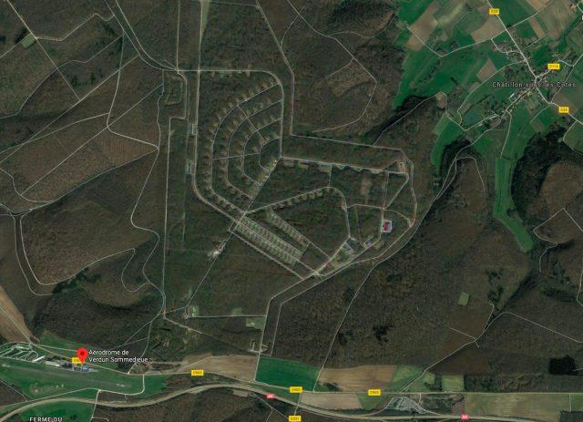 Dans Google Maps, certains aérodromes sont floutés