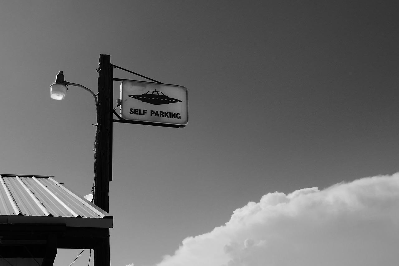 Un panneau pris en photo autour de la Zone 51
