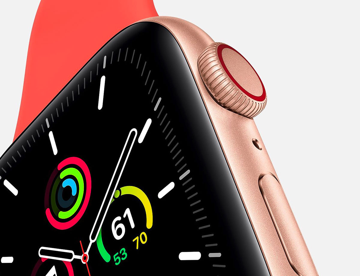 L'Apple Watch SE se décline uniquement en version aluminium