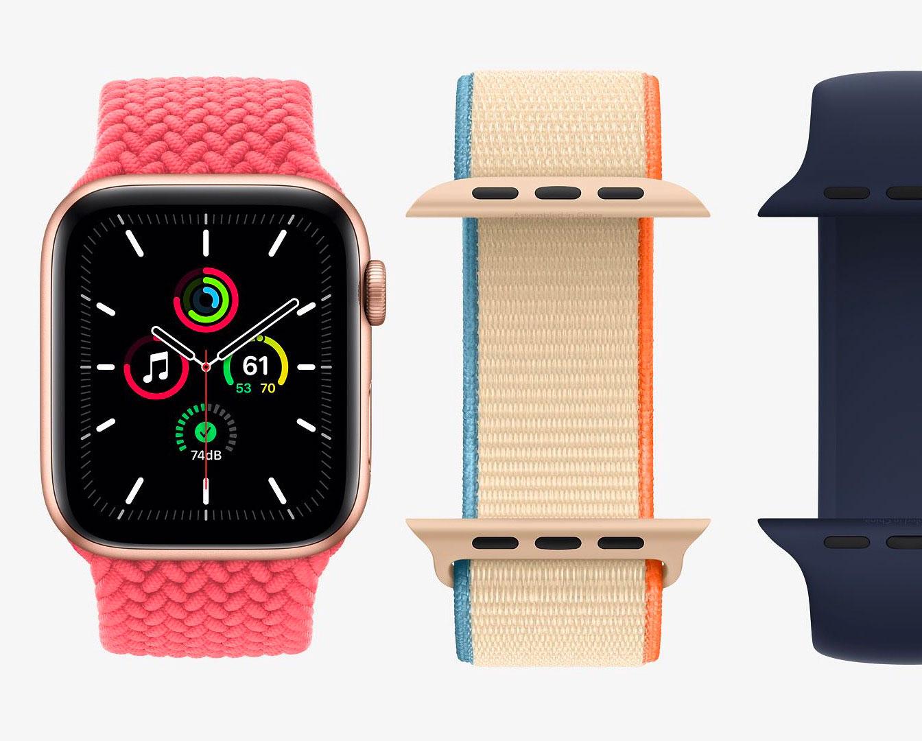 L'Apple Watch SE peut elle aussi profiter de l'Apple Watch Studio
